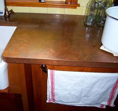 Since the last thread on this topic has reached capacity, let's continue it with a new one. Here is the prior thread 'DIY copper countertop' I love the DIY work and photos that everyone has done. We are considering DIY Stainless Counters using similar copper methods used in the original post. Does a...