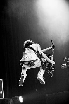 Whoever said white men can't jump has obviously never seen Tom Fletcher.