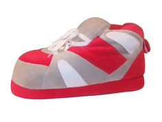 Scarlet and Gray Slippers