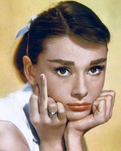 Audrey, I'm shocked! Lol.