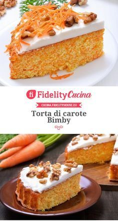 Torta di carote Bimby