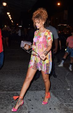 Rihanna ∞ - August 29: Rihanna out in New York