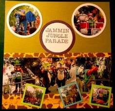 Layout: Jammin Jungle Parade - Left Side