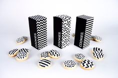 Embalagem e produto ligados pela criatividade no design gráfico! - Cookies (Student Project) on Packaging of the World - Creative Package Design Gallery