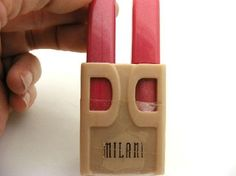 NEW MILANI 2 SWEETLY MATCHED LIPSTICK & LIPGLOSS COMPACT WITH MIRROR #808 TWO SWEET PRETTY PAIR