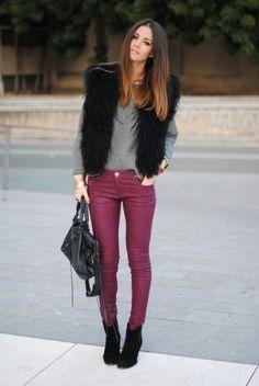 how I want a fur vest