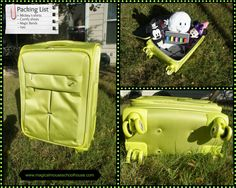 Fun, functional and practically perfect to #packmorefun into any vacation! @Janet Russell-Snider Tourister #Colora #Disneyluggage #sp #MagicalBlogorail