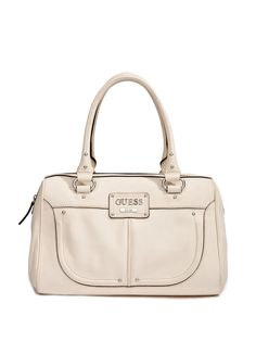 GUESS Hiroko Faux-Leather Box Satchel