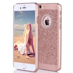 Amazon.com: iPhone 6s Case, Imikoko™ Fashion Luxury Protective Hybrid Beauty Crystal Rhinestone Sparkle Glitter Hard Diamond Case Cover For iPhone 6s/6 (3-Layer): Cell Phones & Accessories
