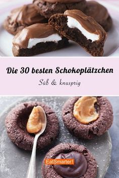 The best chocolate cookies - *Weihnachten - Merry Christmas* - Die besten Schokoladenplätzchen Do you already know our best chocolate cookie recipes? If you want to bake cookies and are chocolate fans, you& come to the right place! Best Chocolate Cookie Recipe, Chocolate Biscuits, Chocolate Chip Recipes, Chip Cookie Recipe, Easy Cookie Recipes, Chocolate Cookies, Cake Recipes, Dessert Recipes, Chocolate Chocolate