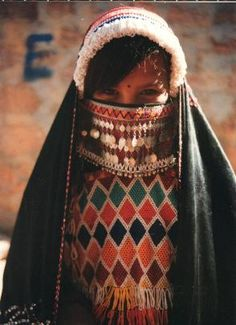 Southern Sinai Desert bedouin girl from Katri'in village 1997 - the image commonly used on promotional material for the Secret Splendours exhibition. Eastern Dresses, Middle Eastern Fashion, Desert Fashion, Film Inspiration, Design Inspiration, Arab Girls, Camping Gifts, Belly Dancers, The Middle