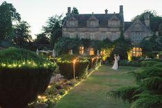 Magical garden lights - Melani and Matt's Barnsley House wedding, Ria Mishaal Photography