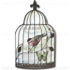 88 meilleures images du tableau old bird cage cages oiseaux anciennes birdhouses bird. Black Bedroom Furniture Sets. Home Design Ideas