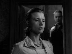 Through A Glass Darkly Ingmar Bergman) / Cinematography by Sven Nykvist Bergman Movies, Harriet Andersson, Ingmar Bergman, Film Stills, Cinematography, Filmmaking, People, Composition, Snail