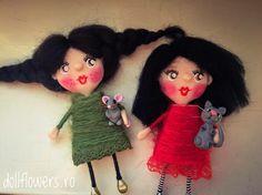 Sunday was funday! Polymer Clay Dolls