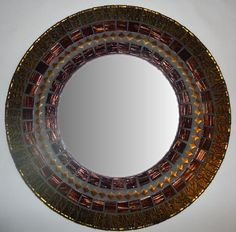 Mosaic mirrors, frames and more, all hand made and one of a kind.