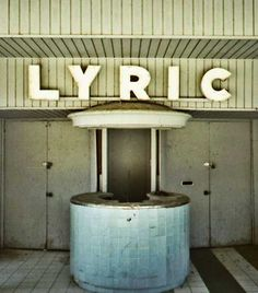 Lyric Movie Theater, Yuma AZ Closed many years ago.