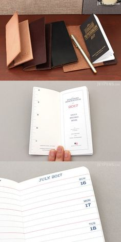 Designed to record a year of your life as you jot down a line or two everyday, this Standard Memorandum notebook becomes a wonderful memento of your year. Word Notebooks, Stationery Companies, Jet Pens, Holiday List, Made In America, How To Memorize Things, Words, Life, Horse