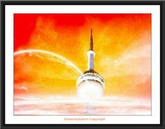 Toronto City Hall-Downloadable Fine Art  by UrbanDigitalArt