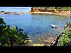 Presqu'ïle de Giens -coastline -  france