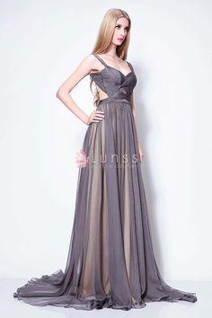 Champagne Vintage Prom Dresses