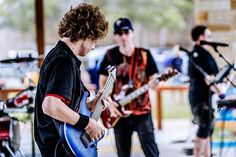 Jed on lead guitar for Gridlock playing down at Australia Day festivities. Gladstone Qld, Local Music, Australia Day, Live Music, Rock Bands, I Am Awesome, Guitar, Photography, Instagram