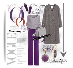 """""""Mnemosyne"""" by karic-lejla ❤ liked on Polyvore featuring MANGO, Cushnie Et Ochs, Tory Burch and MICHAEL Michael Kors"""
