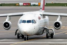 Swiss Airlines BaE 146