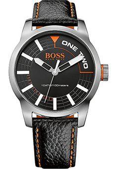 BOSS Orange Herren-Armbanduhr Analog Quarz (One Size, schwarz) - http://autowerkzeugekaufen.de/boss/boss-orange-herren-armbanduhr-analog-quarz-one