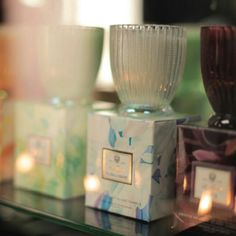 . Voluspa Candles, Glass Candle, Lily, Bungalow, Gifts, Gift Ideas, Presents, Lilies, Favors