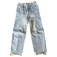 VETEMENTS Blue Cotton Jeans