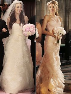 looove both of the dresses (: