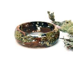 Nature jewelry. Forest jewelry. Bark by oceanpetalsartstudio
