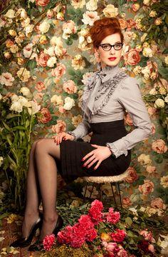 Lena Hoschek - modern designer of vintage fashion