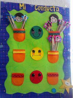 SEMÁFORO DEL COMPORTAMIENTO (7) Classroom Rules, Classroom Setting, School Classroom, Classroom Decor, Class Decoration, School Decorations, School Projects, Preschool Activities, Teaching Kids