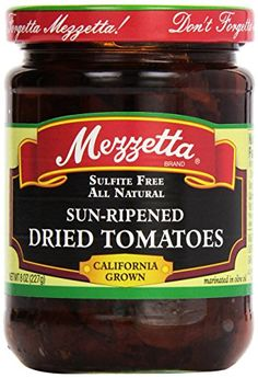 Mezzetta Sun-Ripened Dried Tomatoes In Olive Oil, 8 oz >>> Check out this great product.-It is an affiliate link to Amazon.