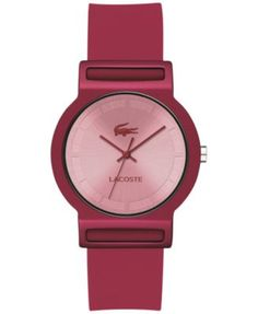 Lacoste Unisex Tokyo Raspberry Silicone Strap Watch 39mm 2020077