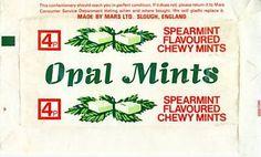 Minty opal fruits aka starburst!