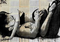 "Saatchi Art Artist Loui Jover; Drawing, ""lust"" #art"
