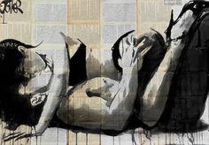 """Saatchi Art Artist Loui Jover; Drawing, """"lust"""" #art"""