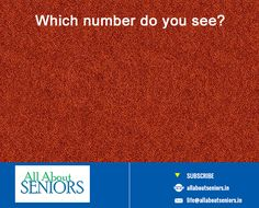 #eyetest TEST YOUR EYES: Here's a eye test for all our shining silvers, http://www.allaboutseniors.in/ #visiongame #findtheword #allaboutseniors