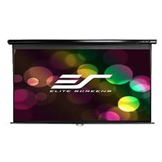 HighQuality Elite Screen Manual 84inch 16 9PULL Down Projection Projector Screen 076818001508 | eBay