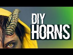 DIY Cuernos / Horns · Worbla Cosplay Tutorial - YouTube