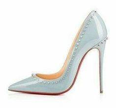 Christian Louboutin Pretty Shoes, Beautiful Shoes, Shoe Boots, Shoes Heels, Manolo Blahnik Heels, Only Shoes, Unique Shoes, Kinds Of Shoes, Shoe Collection