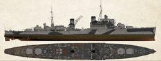 HMS Mauritius Crown Colony-class Fiji sub-class light cruiser Crown Colony, Naval History, Modeling Tips, Navy Ships, Royal Navy, Battleship, Mauritius, Fiji, World War Ii