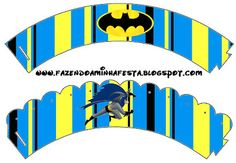 Making My Party!: Batman - Complete Kit with frames for invitations, labels for goodies, souvenirs and pictures!