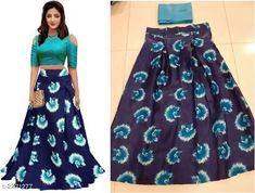 Lehengas Partywear Satin Women's Printed Lehengas Fabric: Lehenga - Satin Blouse - Satin  Size: Lehenga- Up To 44 in   Blouse - 0.80 Mtr Length: Lehenga -  Up To 42 in Flair: Lehenga - 2.25 Mtr Type: Lehenga - Semi - Stitched Blouse - Un-Stitched Description: It Has 1 Piece Of Lehenga With 1 Piece Of Blouse Work: Lehenga - Printed   Pattern : Blouse - Solid Country of Origin: India Sizes Available: Free Size, Semi Stitched   Catalog Rating: ★4 (688)  Catalog Name: Beautiful Partywear Satin Women's Printed Lehengas Set Vol 2 CatalogID_302548 C74-SC1005 Code: 313-2271277-546
