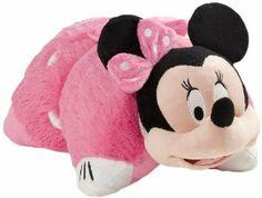My Pillow Pets Authentic Disney Minnie Mouse 18-Inch Folding Plush Pillow, Large  Order at http://amzn.com/dp/B008OQUVW4/?tag=trendjogja-20