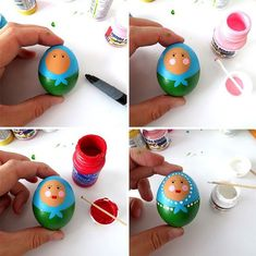 Πώς να Φτιάξετε Πασχαλινά Αυγά Μπαμπούσκες - Φτιάξτο μόνος σου - Κατασκευές DIY - Do it yourself