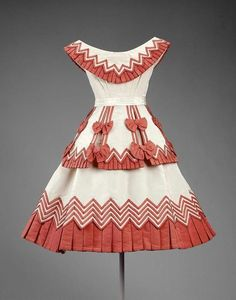 Girl's Party Dress c.1865